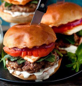 Hamburger Greco