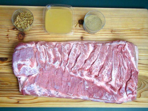 Ingredienti Pork Belly