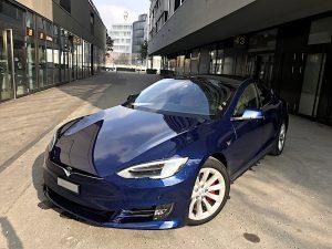 Tesla Schlieren
