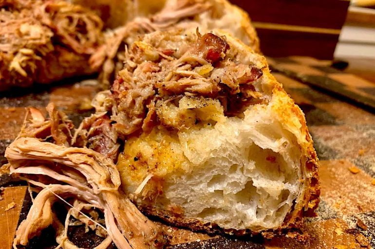 Pulled Pork Crosta Intro